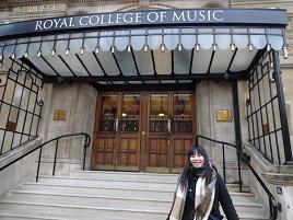 2015年度 英国王立音楽大学(Royal College of Music)/ 景山須美子